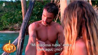 Hugo le promete un tatuaje a Ivana en Supervivientes