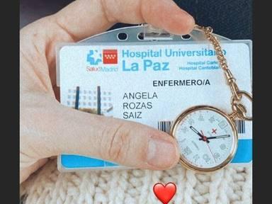 Madame de Rosa enfermera en La Paz coronavirus