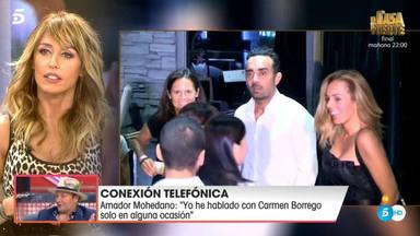 Emma García habla con Amador Mohedano