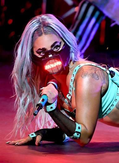 Lady Gaga ha tornat a ser la protagonista, dins i fora dels escenaris dels MTV