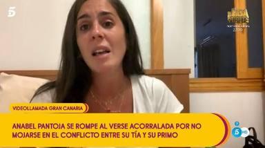 Anabel Pantoja, con el corazón dividido en la guerra familiar de Isabel y Kiko Rivera