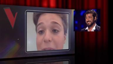 Jan Orozco emociona a su padre en 'La Voz' con un bonito mensaje