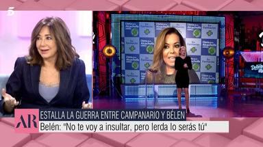 Ana Rosa contra Belén Esteban y María José Campanario