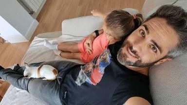 Roberto Leal papel de su hija Lola como hermana mayor Leo