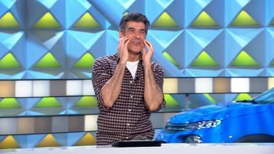 Una concursante de 'La Ruleta de la Suerte' le declara su amor a Jorge Fernández en pleno programa