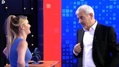 """La rotunda advertencia de Carlos Sobera a su hija Ari en pleno directo: """"Como te escuche tu madre..."""""""
