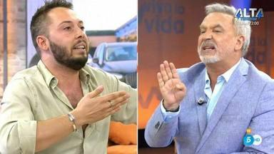 José Antonio Avilés y Enrique del Pozo, nuevo enfrentamiento en directo en Viva la vida