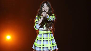 Camila Cabello durante una actuación