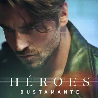 David Bustamante, carátula oficial de Héroes