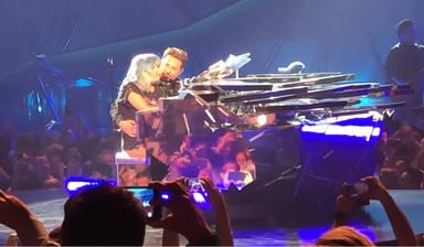 Lady Gaga y Bradley Cooper en Las Vegas
