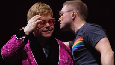 """Elton John y Taron Egerton cantan juntos """"Your Song"""""""