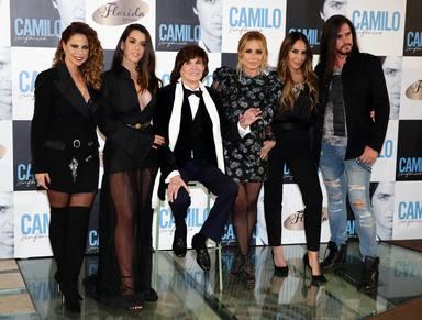 Camilo Sesto junto a Mónica Naranjo, Marta Sánchez, Pastora Soler y Ruth Lorenzo