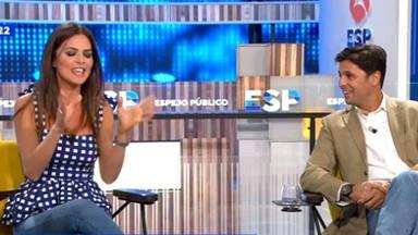 El tremendo zasca de Romina Belluscio a Fran Rivera en su estreno en 'Espejo Público'