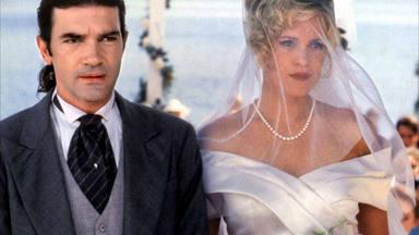 Melanie Griffith y Antonio Banderas y otras parejas que nos hicieron creer en el amor en los 90