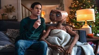 E.T. : Protagonista d'un anunci aquest Nadal