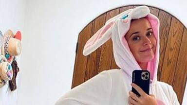 El orignal vestuario con el que Katy Perry hace frente al coronavirus