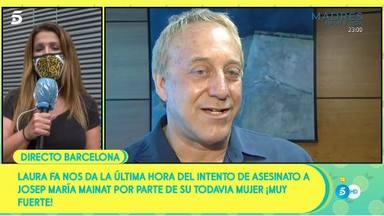 Sálvame informa sobre intento asesinato Josep Maria Mainat