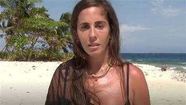 Anabel Pantoja se rompe al recordar cómo tiró la toalla en 'Supervivientes 2014'