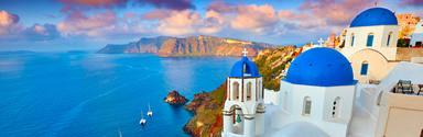 Destinos para enamorarse: Santorini