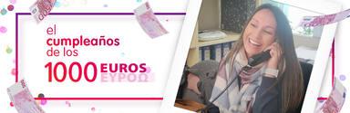 ¡Patricia Lloret deAlicante ha ganado El cumpleaños de los 1.000 euros!