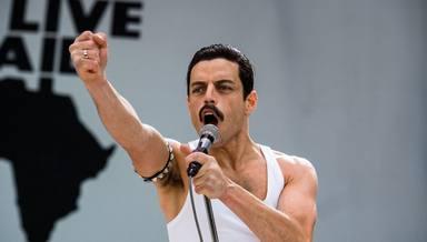 Rami Malek convertido en Freddie Mercury