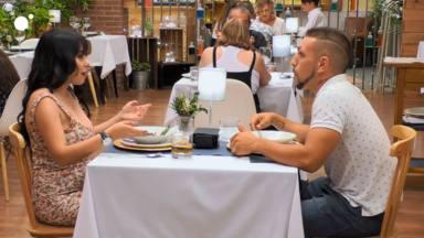 Blanca y Toni en una cita de 'First dates'