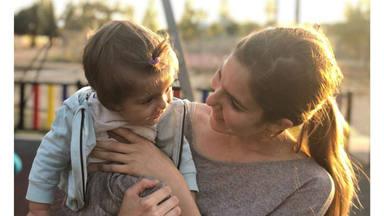 La odisea de Natalia Sánchez para disfrazar a su hija Lia por primera vez