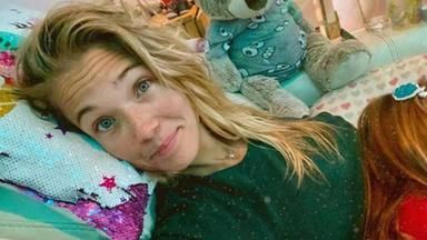 El mensaje de la actriz Patricia Montero sobre cómo ''sobrevivir'' a estar enferma con hijos pequeños en casa