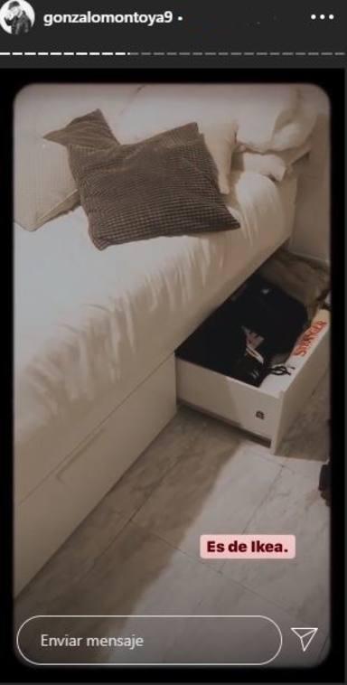 La habitación que Gonzalo Montoya compartía con Susana Molina