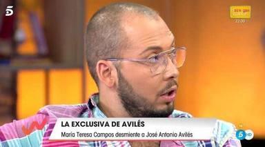 Viva la Vida: Toñi Moreno enfado José Antonio Avilés