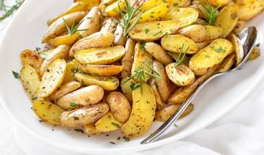 Patatas con romero