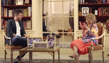 Pablo López con María Teresa Campos en Youtube