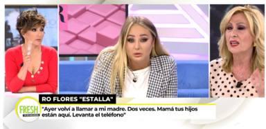 El dardo envenenado de Rosa Benito a Rocío Carrasco tras conocerse las llamadas sin respuesta de Rocío Flores
