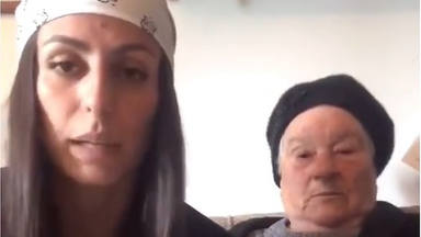 La abuela viral del falso embrazo que arrasa en Instagram