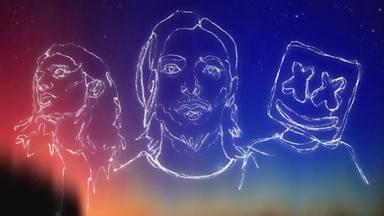 La mega colaboración de Alesso, Marshmello y James Bay se llama 'Chasing stars'