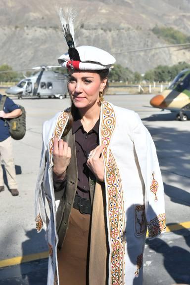 Kate Middleton en su visita oficial a Pakistán