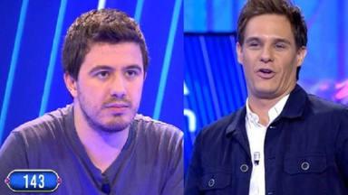 Orestes y Christian Gálvez en 'Pasapalabra'