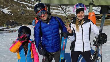 El plan perfecto de David Bisbal junto a sus hijos Matteo y Ella y su mujer, Rosanna Zanetti