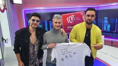 ¿Quieres ganar esta camiseta de CADENA 100 firmada por Lérica?