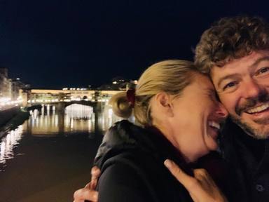 Anne Igartiburu y su marido Pablo Heras separados cuarentena