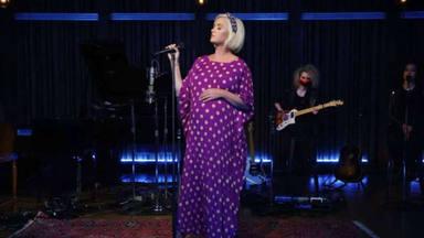 Katy Perry ya reveló el nombre de su hija y su significado en una canción