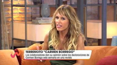 Emma García enfado Viva la vida