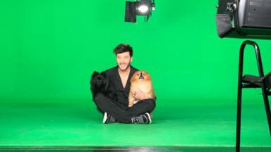 Blas Cantó tira de optimismo para recordar Eurovisión y comparte cómo se creó el vídeo de presentación