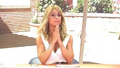 Emma García se rompe a llorar en directo en 'Viva la vida' al recordar un drama personal