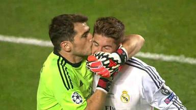 El guiño más cómplice de Iker Casillas con Sergio Ramos en un día importante