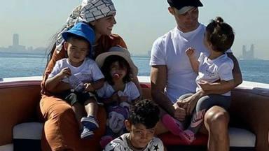 Cristiano Ronaldo y Georgina Rodriguez protgen a sus hijos del coronavirus