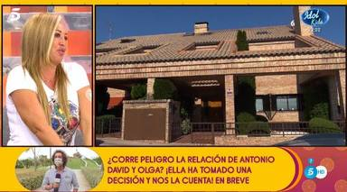 Belén Esteban, emocionada tras vender la casa que perteneció a Toño Sanchís