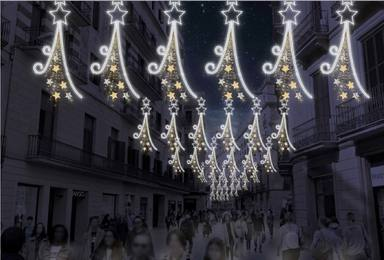 Els llums de Nadal 2020 a Barcelona