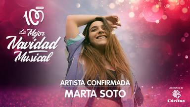 Marta Soto gsls especial CADENA 100 La Mejor Navidad Musical