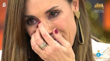 Lágrimas Isabel Rábago dos años sin ver a su hermana